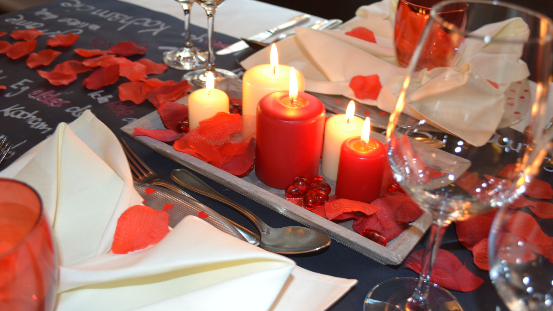 Valentinstag Essen Restaurant Dinner